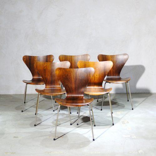 Arne Jacobsen Seven Chairの簡易年代特定方法