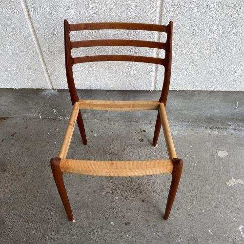 Niels Otto Moller(モラー) Model 78 Chair 塗装