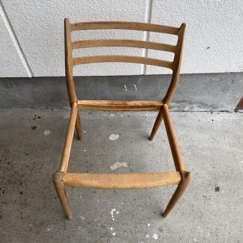 Niels Otto Moller(モラー) Model 78 Chair サンディング