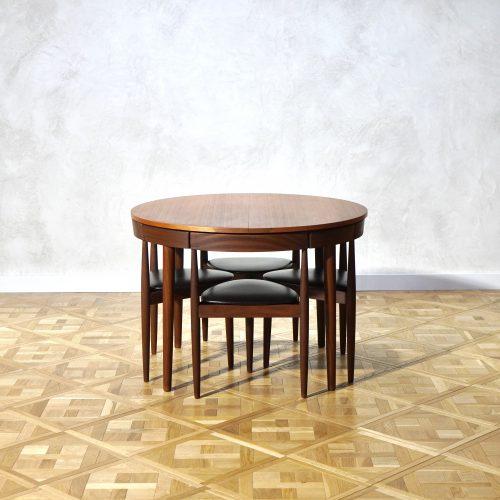 Hans Olsen(オルセン)ダイニングエクステンションテーブル 塗装