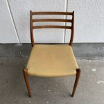 Niels Otto Moller(モラー) Model 78 Chair 座面外し