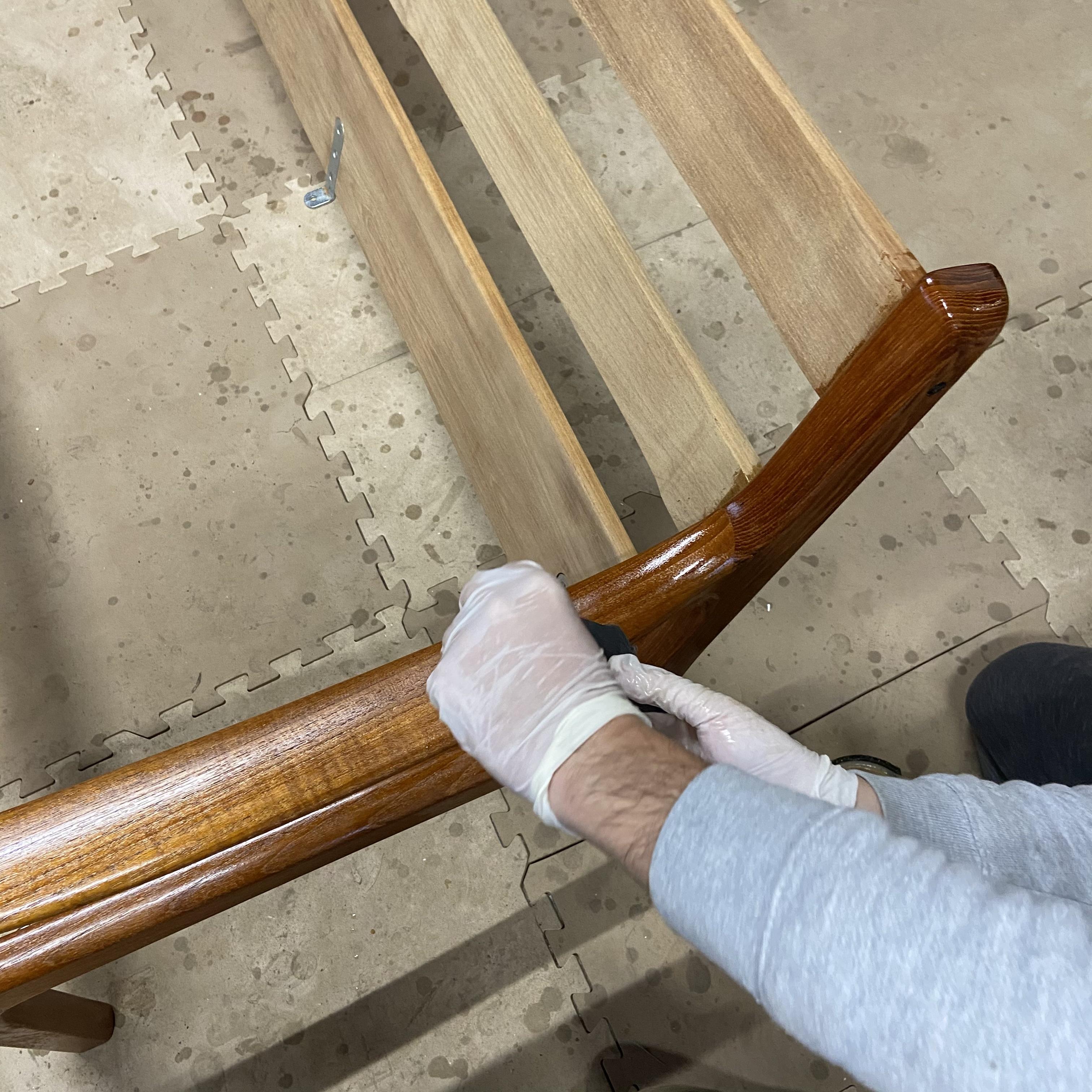 Ole Wanscher(オーレ・ヴァンシャー)sofa 塗装